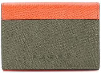 Marni snap button wallet
