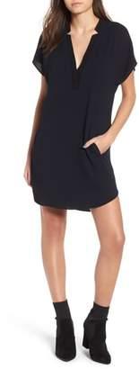 ASTR the Label ASTR V-Neck Crepe Shift Dress
