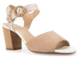 Geox Eudora Block Heel Sandal