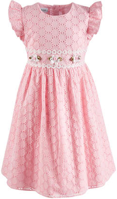 Bonnie Jean Toddler Girls Eyelet Dress