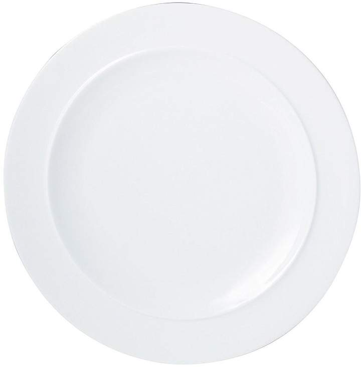 – White By Set Of 4 Medium Dinner Plates