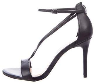 440a231e85d Halston Black Strap Women's Sandals - ShopStyle