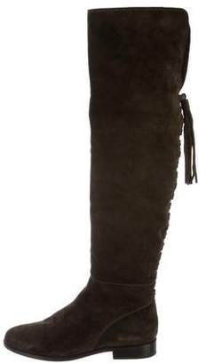 Frye Suede Over-The Knee Boots