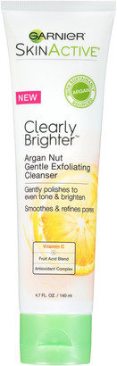 Garnier SkinActive Clearly Brighter Argan Nut Gentle Exfoliating Cleanser $7.99 thestylecure.com