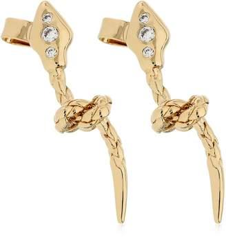Snake Knot Earrings
