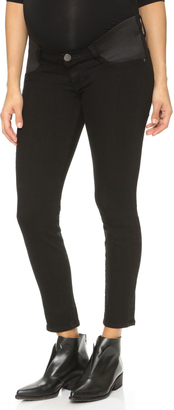 Current/Elliott The Maternity Stiletto Jeans $208 thestylecure.com