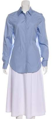 Tome Long Sleeve Button-Up Top