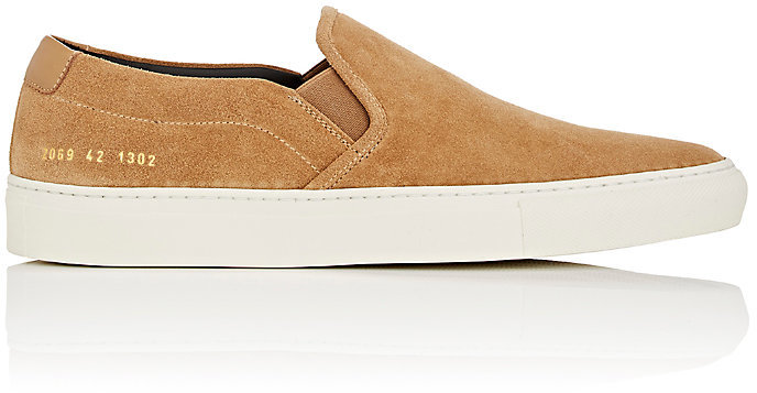 Common ProjectsCommon Projects Men's Retro Suede Slip-On Sneakers