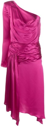 Each X Other one-shoulder asymmetric midi dress