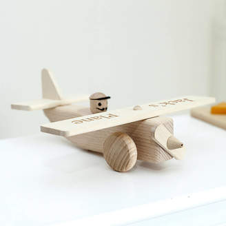 Jonny's Sister Personalised Wooden Plane