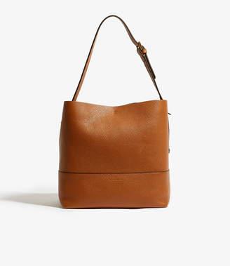 Karen Millen Leather Bucket Bag