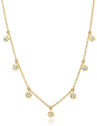 Ron Hami Starstruck 14k Diamond 7-Station Necklace