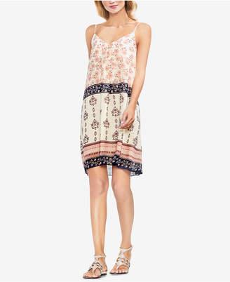 Vince Camuto Printed Slip Dress