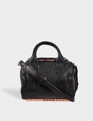 Alexander Wang Rockie Bag Rose Gold Finish