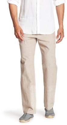 Perry Ellis Linen Blend Drawstring Pants
