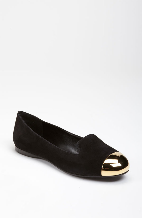 Yves Saint Laurent Cap Toe Slipper