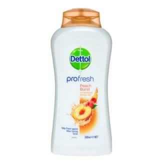 Dettol ProFresh Shower Gel Peach & Raspberry 500 mL