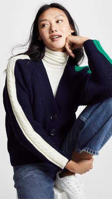 Sjyp Cable Tape Cardigan