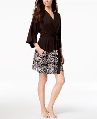 INC International Concepts I.N.C. Printed Wrap Robe, Created for Macy's