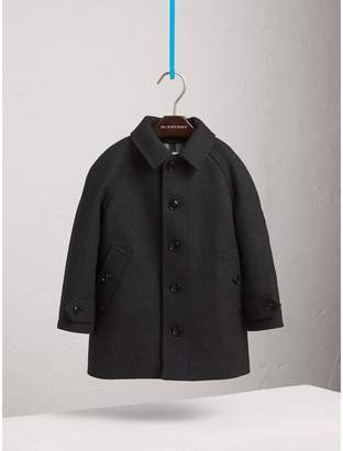 Burberry Wool Cashmere Blend Car Coat