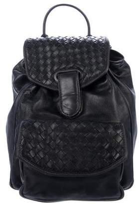 Bottega Veneta Vintage Leather Backpack