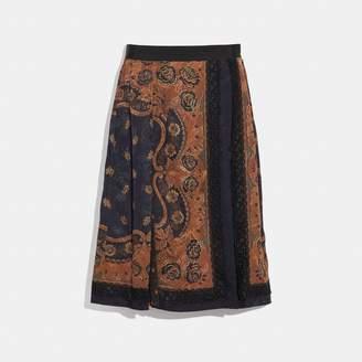Coach Bandana Print Skirt