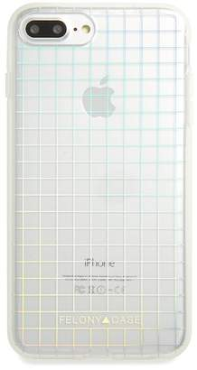 FELONY CASE Holographic Grid iPhone 6\u002F6s\u002F7\u002F8 & 6\u002F6s\u002F7\u002F8 Plus Case
