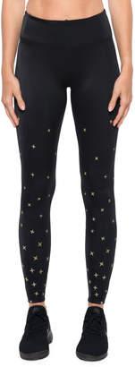 Koral Activewear Stellar High-Rise Star-Print Performance Leggings