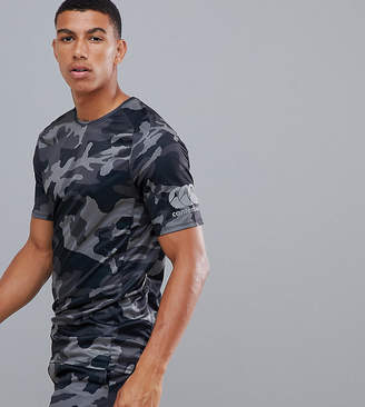 Canterbury of New Zealand Vapodri Camo Superlight T-Shirt In Black Exclusive To ASOS