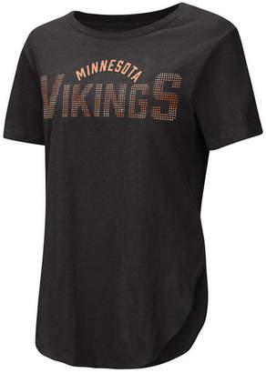 Rosegold Touch by Alyssa Milano Women Minnesota Vikings Touch Stone T-Shirt