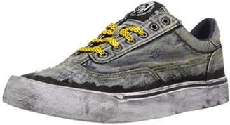 Diesel Women's 355 S-Flip Low W Denim Sneaker
