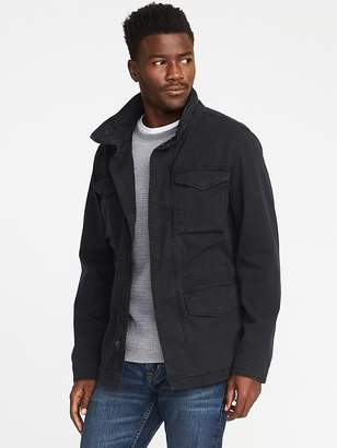 Old Navy Garment-Dyed Built-In-Flex Twill Jacket for Men