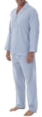 Geoffrey Beene Long Sleeve and Longpant Broadcloth Pajama