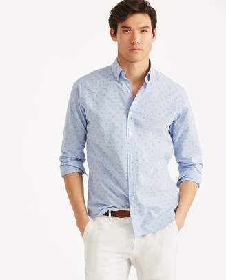 Ralph Lauren Classic Fit Anchor-Print Shirt