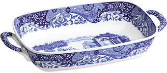 Spode Blue Italian Handled Serving Dish