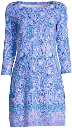 Lilly Pulitzer Sophie UPF 50+ Paisley Shift Dress