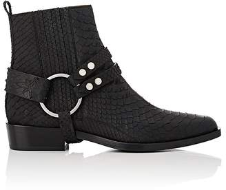 Sartore WOMEN'S HARNESS-STRAP ANKLE BOOTS
