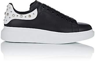 b50d2bdf3608 Alexander McQueen Men s Oversized-Sole Studded Leather Sneakers - Black