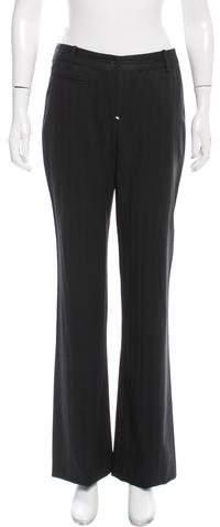 Christian Dior Pinstripe Mid-Rise Pants