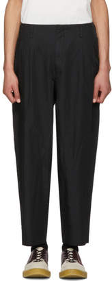 Comme des Garcons Black Twill Trousers