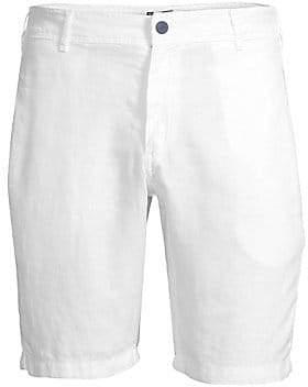 Vilebrequin Men's Solid Linen Shorts