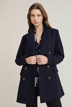 Witchery Horn Peacoat