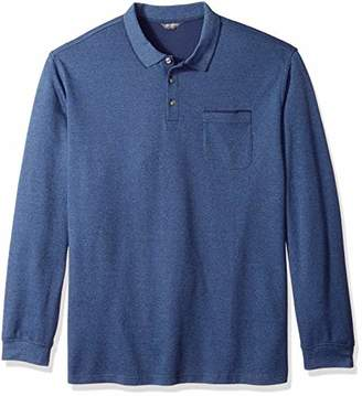 Van Heusen Men's Size Big and Tall Flex Jaspe Polo Shirt