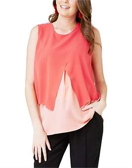 Ripe Maternity Crossover Nursing Blouse