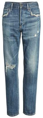 Citizens of Humanity Corey Ripped Slouchy Slim Jeans