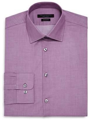 John Varvatos Micro-Dobby Regular Fit Dress Shirt