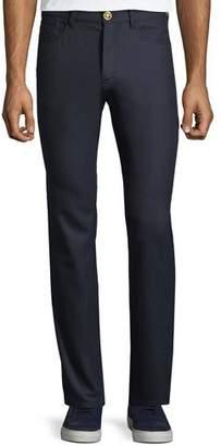 Versace Men's Straight-Leg Wool Trousers