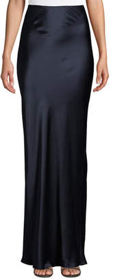 Sablyn Valentina High-Waist Silk Maxi Skirt