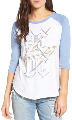 Women's Junk Food Ac/dc Tee $53 thestylecure.com