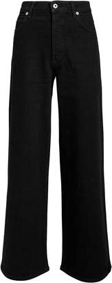 Eve Denim Charlotte Black Culotte Jeans